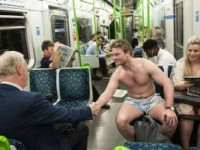 Support for London Commuter Who Stripped in Protest at Heat on the Tube