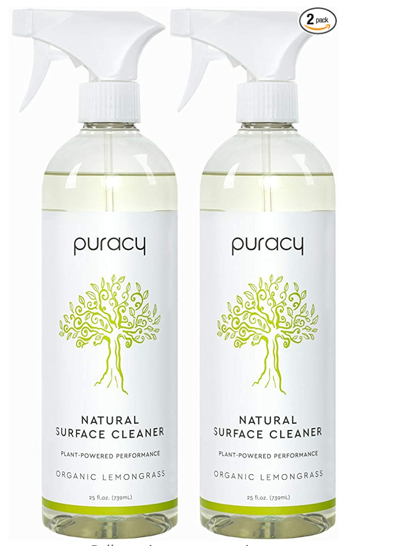 All Natural Cleaner - Puracy - Available on Amazon
