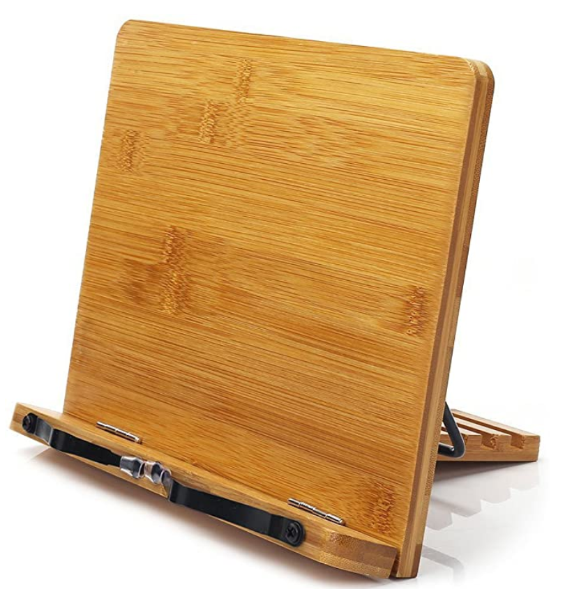 Picture of Bamboo Book Stand - Sustainable Office Supplies