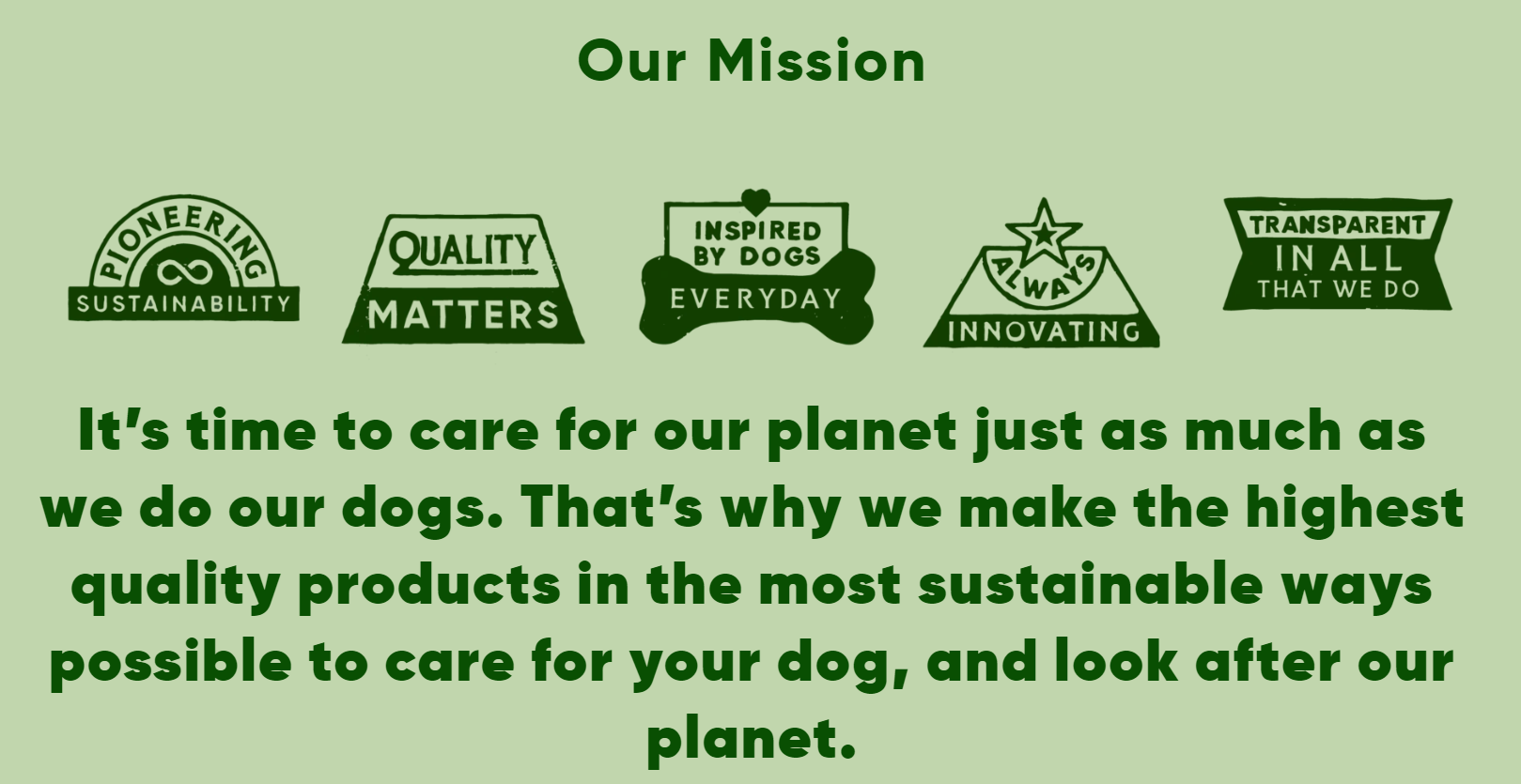 Beco Pets Mission - Quality Materials and Full Transparency - Manufacturer of Eco-Friendly Dog Toys