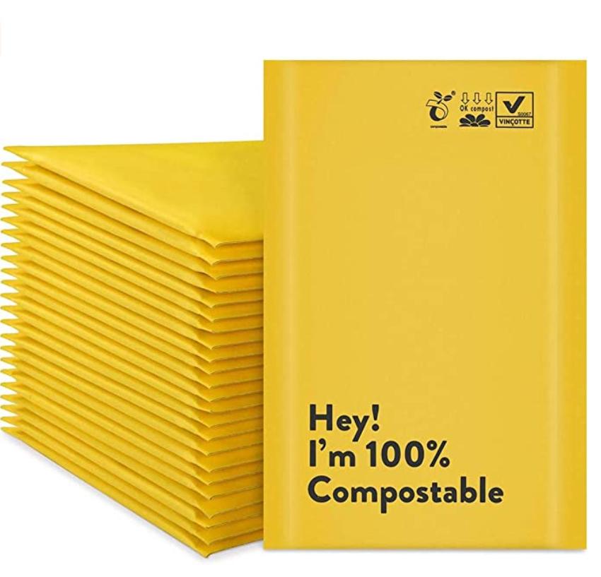 Biodegradable Mailing Envelopes for Green Ecommerce