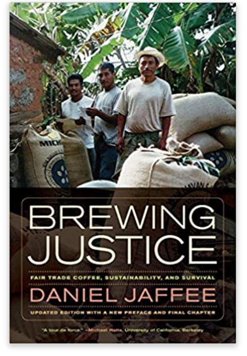 Brewing Justice - The Environmental Impact of the Coffee Trade Book Cover