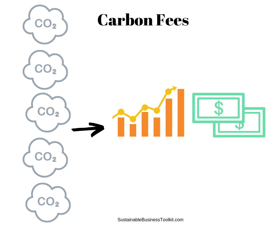 The More Carbon Produced - The More Money Organizations Have to Pay