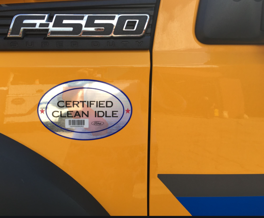 Certified Clean Idle Truck