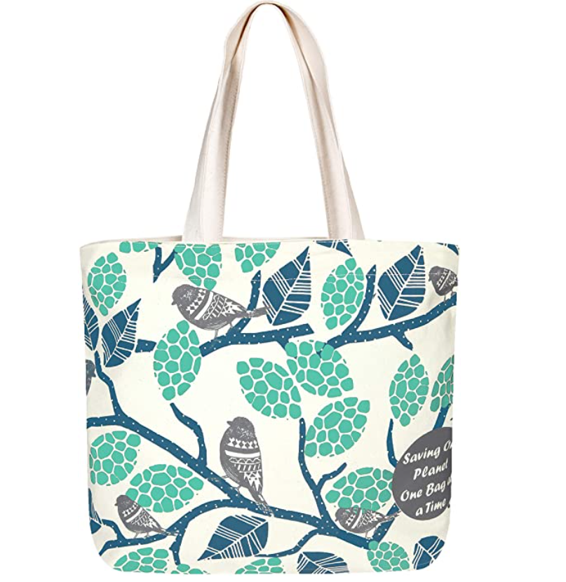 Beautiful Patterned Eco-Friendly Tote Bag