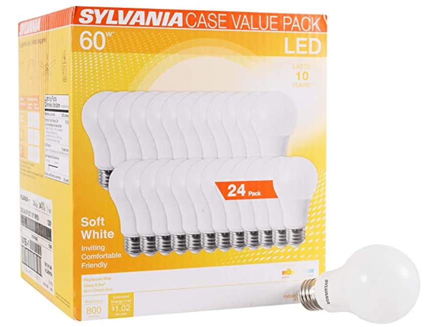 Energy Efficient Light Bulbs - Available on Amazon