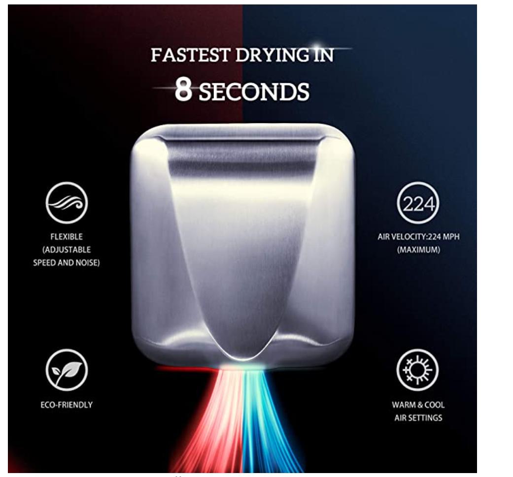 Environmentally Friendly Office - Hand Dryer