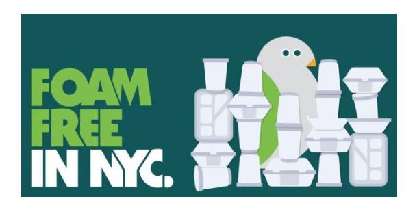 Foam Free NYC Poster