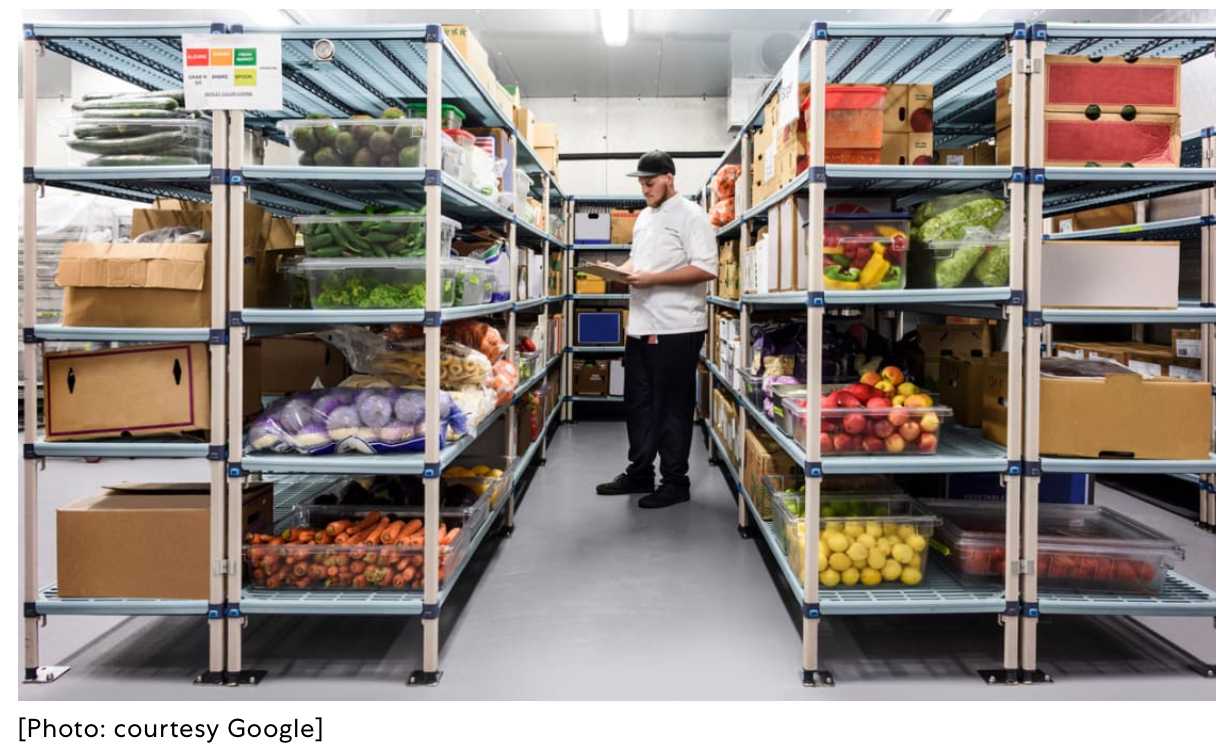 Corporate Social Responsibility - Google Avoids Food Waste