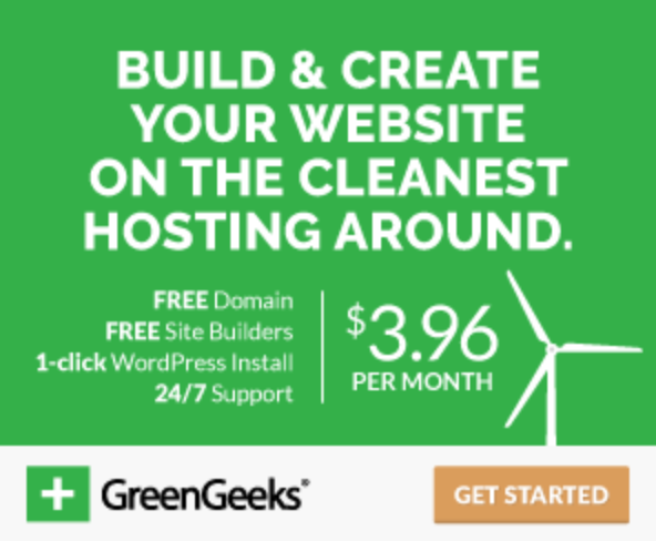 GreenGeeks - Green Web Hosting Offer. Great for Green Business Ideas
