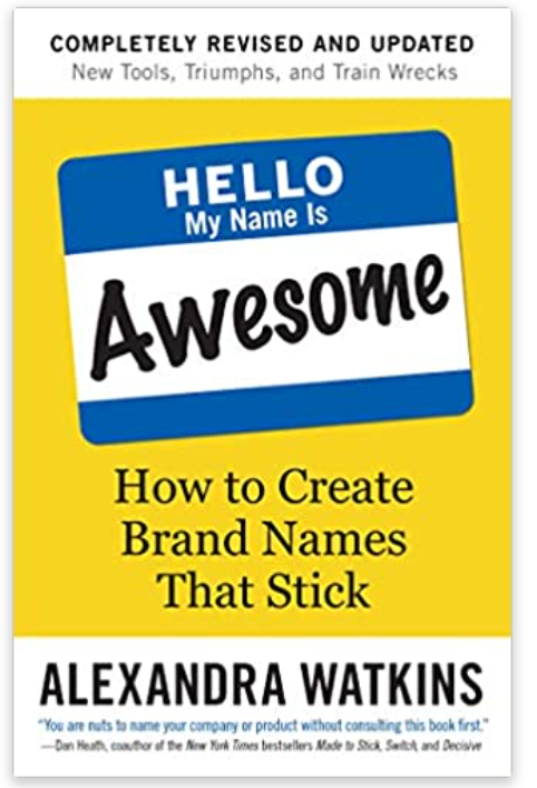 Book about how to choose a name for your business