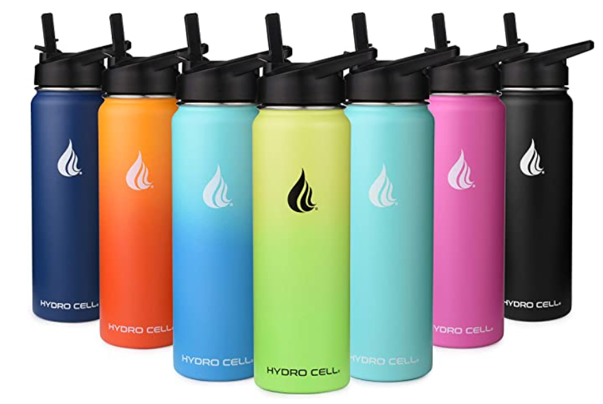 Hydro Cell Stainless Steel Water Bottle - Multiple Color Choices - Easy Go Green Ideas for the Office