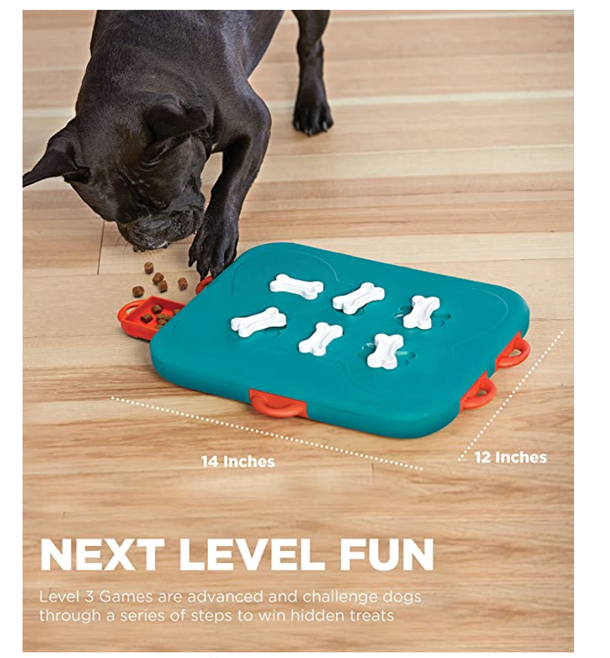 Interactive Eco Friendly Dog Puzzle