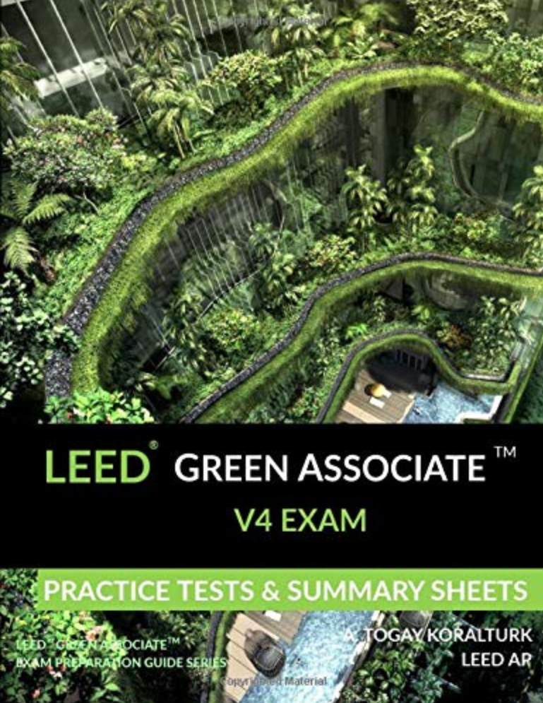 Amazon LEED GA Exam Practice Tests & Summary Sheets Book Cover