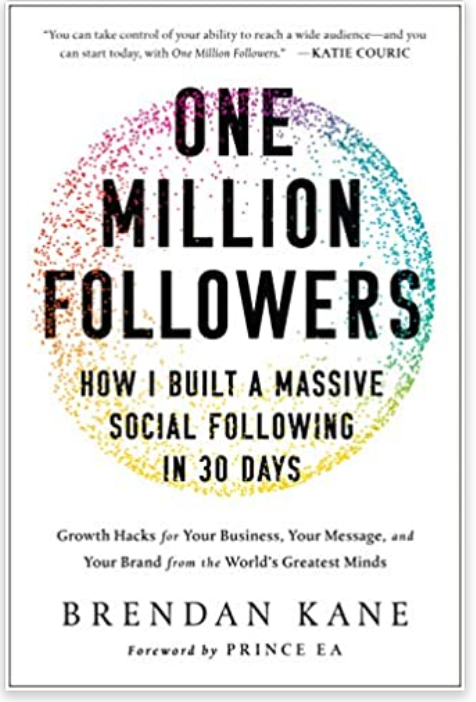 One Million Followers Book Cover