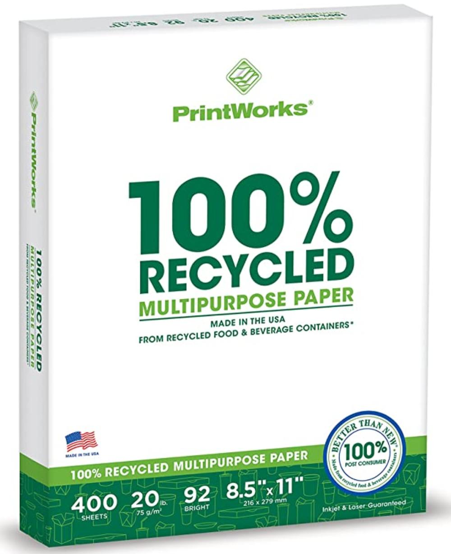 PrintWorks Recycled Printer Paper