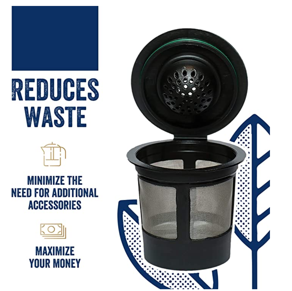 Reusable K Cup - Reduces Waste and Saves Money - Easy Go Green Ideas for the Office