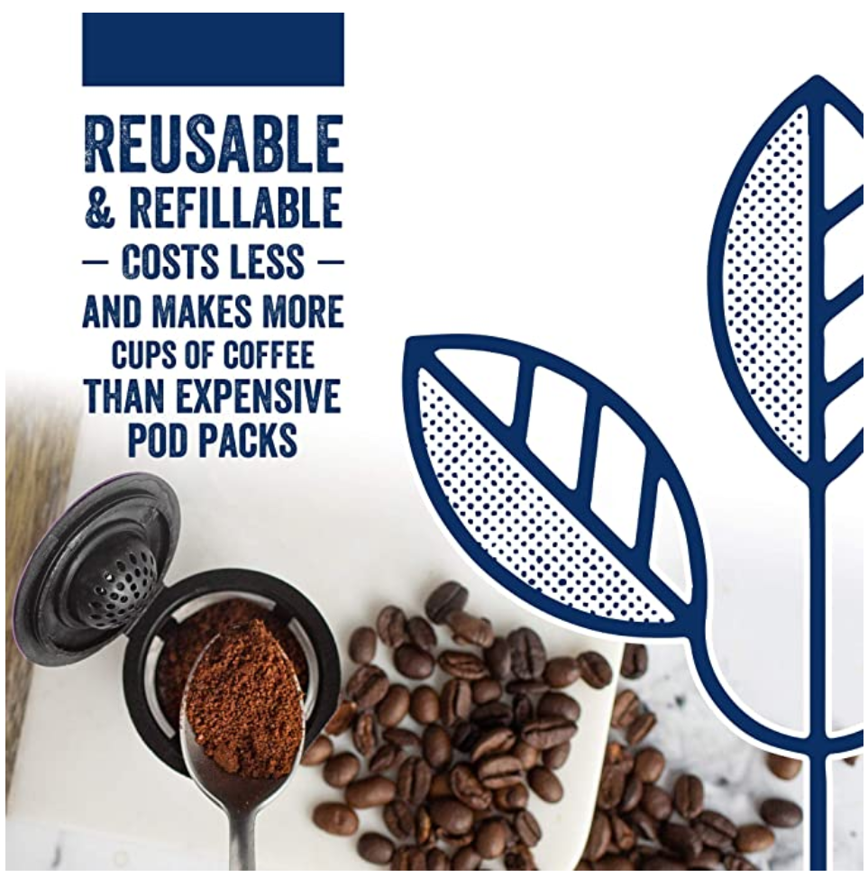 Reusable K Cups - Reusable and Refillable