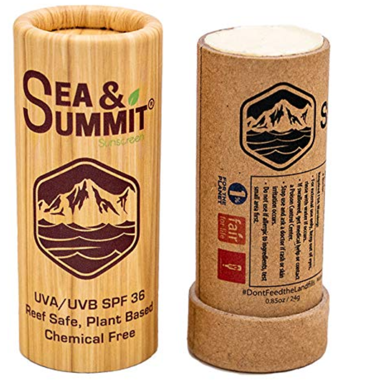 Sea and Summit Sunscreen Plastic Free Packaging