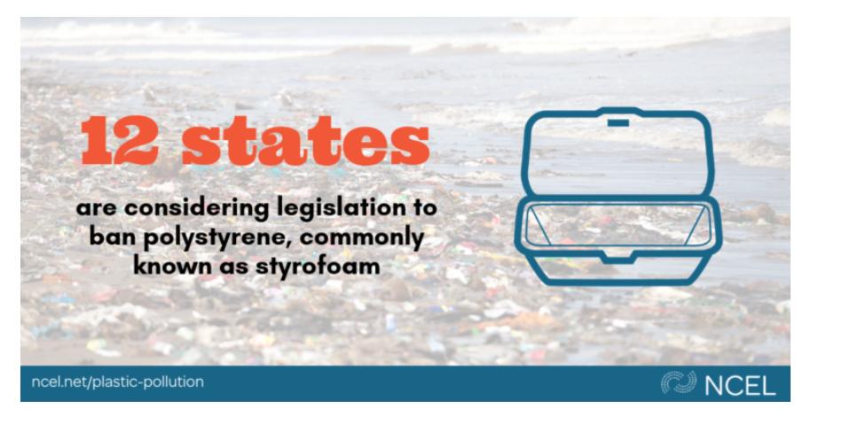 Statewide Styrofoam Cup Bans