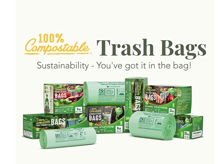 Sustainable Trash Bags for the Office