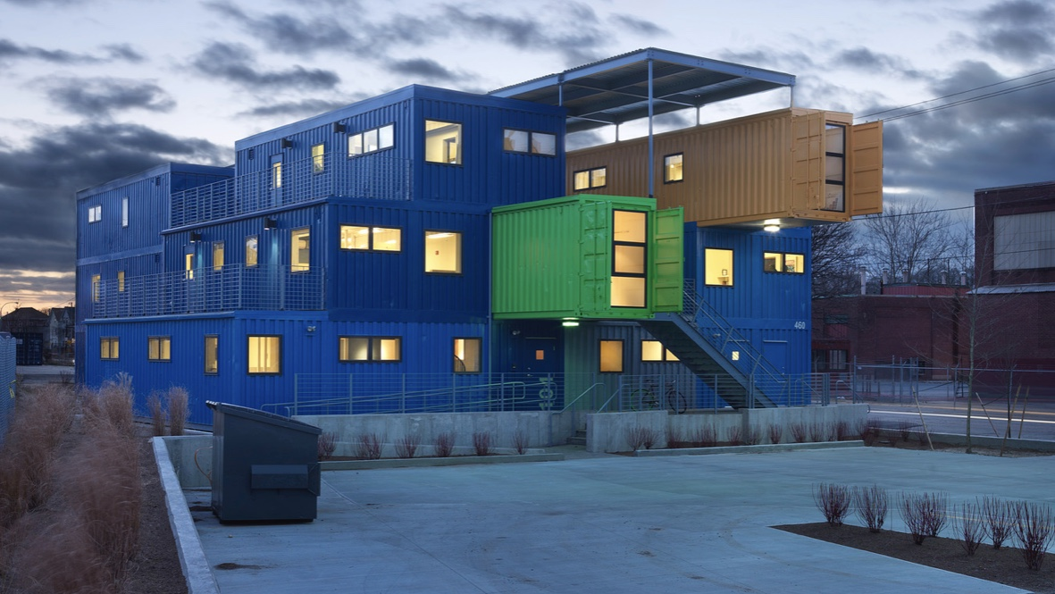 Corporate Social Responsibility Example - Shipping Container Offices
