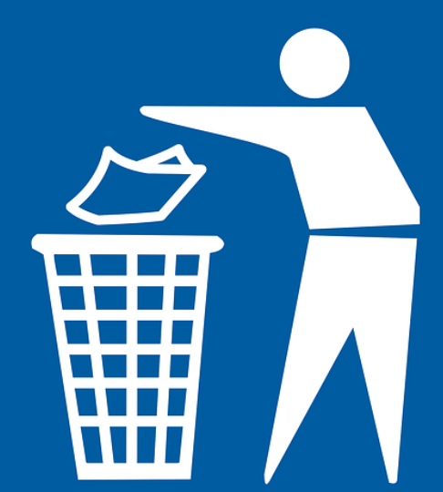 Trash Can / Throwing Trash Away Symbol