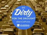 Angelenos take the Dirty Car Pledge